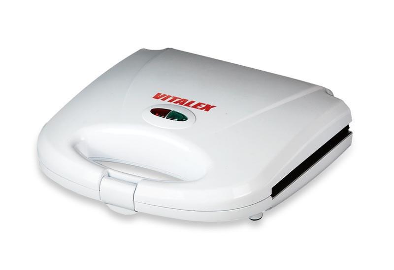 Сэндвичница Vitalex VL-5007, бутербродница, электрическая бутербродница, компактная сэндвичница