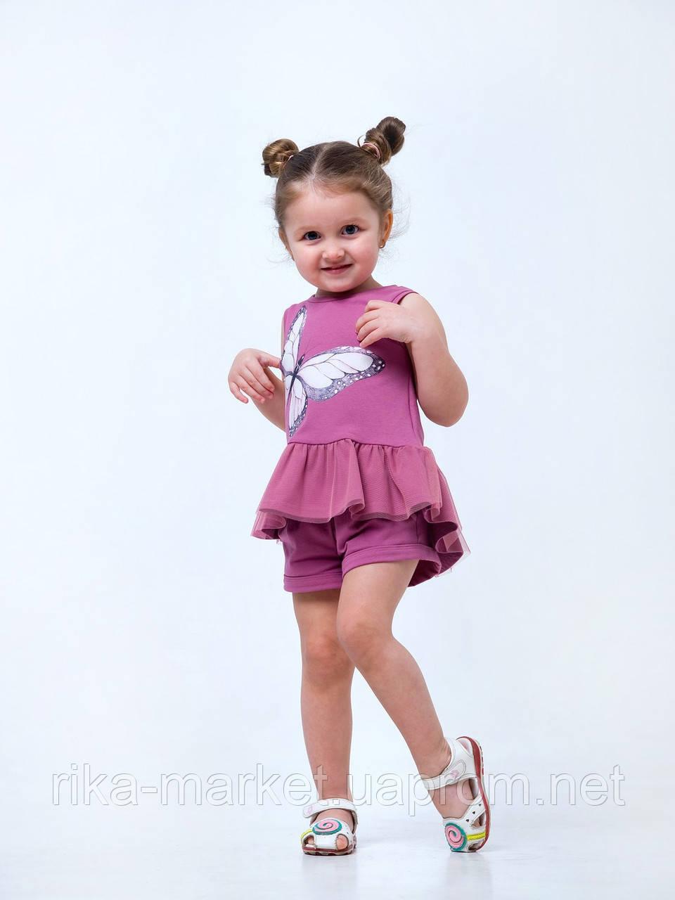 Майка-туника для девочки, Смил, от 2 до 6 лет
