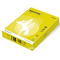 Бумага А4 Maestro Color ZG34 Lemon Yellow желтый