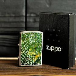 Запальничка Zippo 28285 Spider Web Rain Drops
