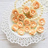 Цветы Яблони 25мм Персиковые распродажа