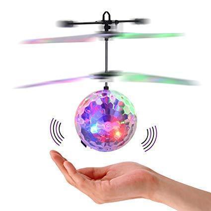 Летающий диско-шар Plymex Whirly Ball LED