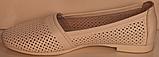 Балетки літні шкіряні від виробника модель РУ225-2, фото 3