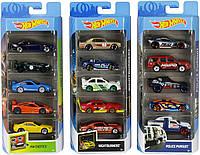 Набор из 5 машинок Хот Вилс Hot Wheels 5-Pack 1:64 Mattel FYL11