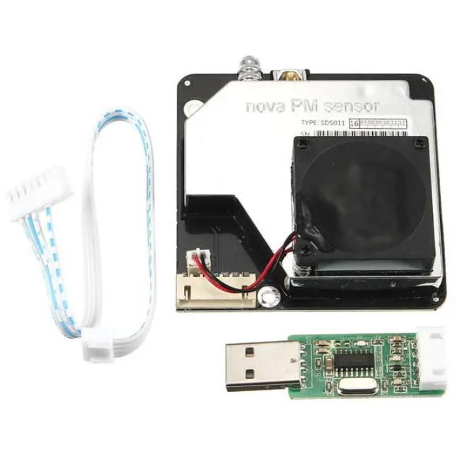 Датчик Nova SDS011 для измерения PM2.5 и PM10 качества воздуха UART Arduino