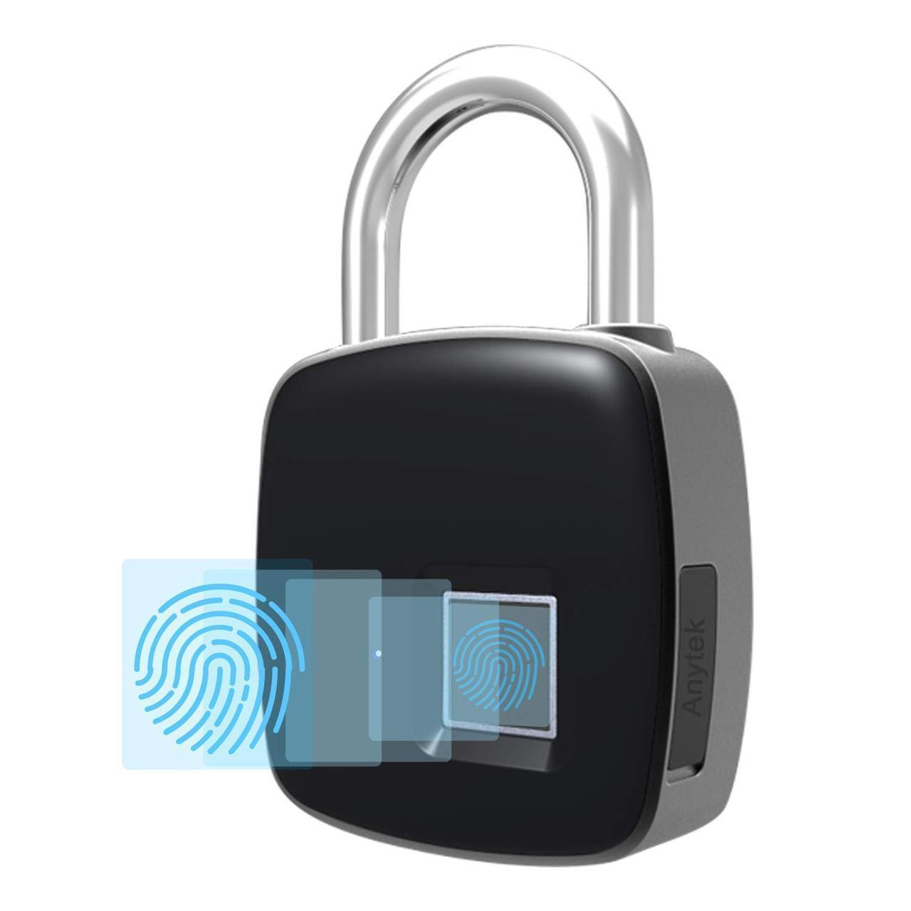 Умный биометрический замок с отпечатком пальца USB Rechargeable Smart Keyless Fingerprint Lock