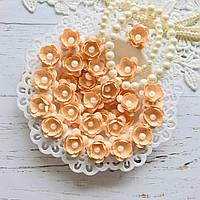 Цветы Яблони 25мм Персиковые