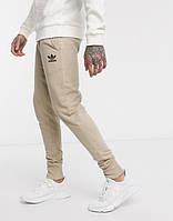 Мужские спортивные штаны Adidas (Адидас) Бежевые летние