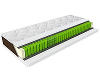 Матрас ортопедический на независимых пружинах Sleep&Fly Organic Альфа (Alfa) 70x190 см