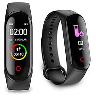 Пульсоксиметр браслет Здоровье pulse oximeter 4 Pro с оксиметром , приложение на смартфон