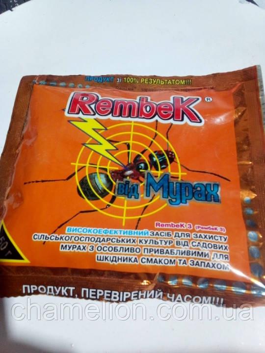 Рембек от муравьев