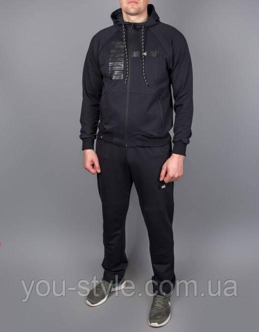 Чоловічий спортивний костюм Puma 5307 Темно-синій
