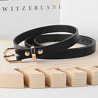 Женский ремень Belt, цвет черный