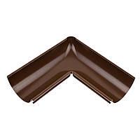 Внутренний угол металлический - коричневый NEW 90° Aqueduct 125/87