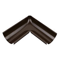 Внутренний угол металлический темно-коричневый 90° Aqueduct 125/87