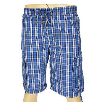Хлопковые мужские шорты в клетку Cordial СО1102 С:306