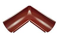 Внутренний угол металлический темно-красный 90° Aqueduct 125/87