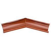 Внутренний угол металлический терракот 135° Aqueduct 125/87