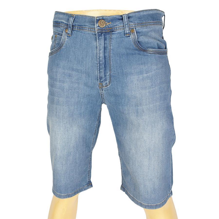 Стильні чоловічі джинсові шорти Cen-cor СNC-1480 BT Blue 2