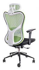 Компьютерное детское кресло Barsky Fly-04 Butterfly White/Green, белый / зеленый, фото 2