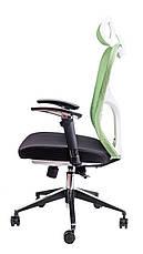 Компьютерное детское кресло Barsky Fly-04 Butterfly White/Green, белый / зеленый, фото 3