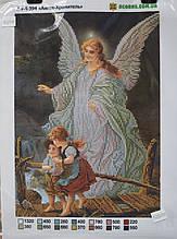 Схема для вышивки бисером Acorns Ангел Хранитель А4-К394