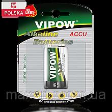 Батарейка Vipow - Accu (BAT0062B) 9 V (1 шт. / блистер)