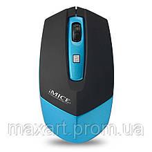 Мышь беспроводная iMICE (E-2350) Blue