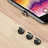 Кабель магнитный USB SKY (R DUAL-line) Apple-lightning (120 см) Red, фото 3