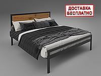 Кровать металлическая двуспальная Герар