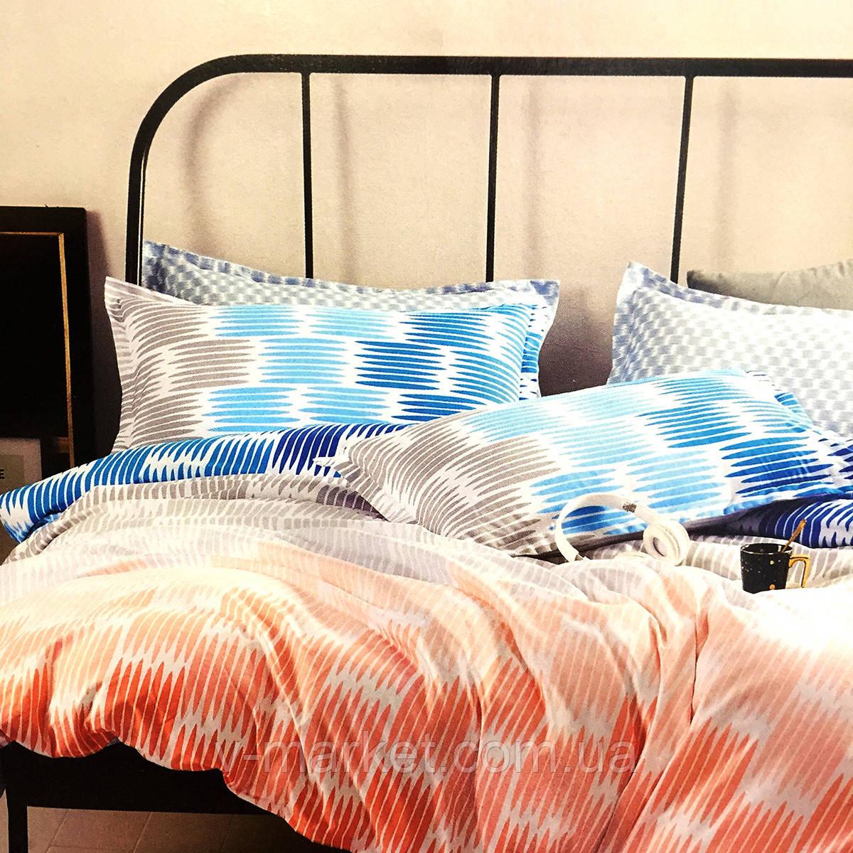 """""""Полоска"""" постельное белье 3D эффект евро размер, 200/220"""