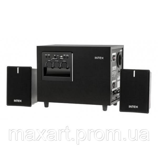 Колонки компьютерные INTEX 2.1 - SUF (KOM0327) Black
