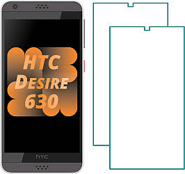 Комплект HTC Desire 630 Защитные Стекла (2 шт.) (НТС Дизаер 630)