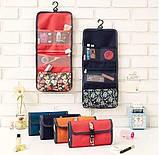Дорожный подвесной органайзер для ванной комнаты Красный, фото 3