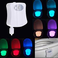 Подсветка для туалета 8 цветов Set Favorite or Rotate