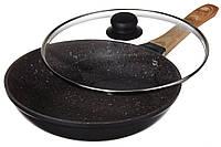 Сковорода с гранитным покрытием A-PLUS 28 см сковородка, фото 1