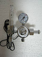 Регулятор расхода газа универсальный У-30/АР-40-П с ротаметром и подогревом