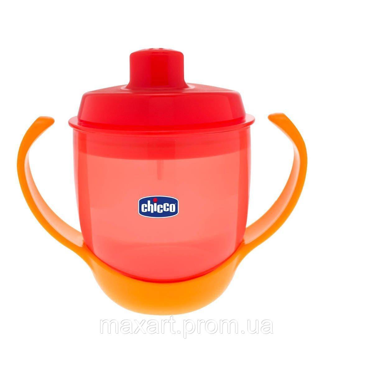 Чашка-непроливайка Chicco - Meal Cup (06824.70) 180 мл, 12 мес.+, оранжевый