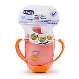 Чашка-непроливайка Chicco - Meal Cup (06824.70) 180 мл, 12 мес.+, оранжевый, фото 3