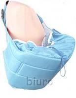 Кенгуру - слинг для переноски детей Banana №11 standart ( светло-голубой ) Womar