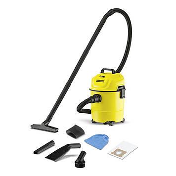 Пылесос для сухой уборки Karcher WD 1 Car Желтый (1.098-307.0)