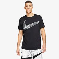 Футболка спортивная мужская Nike DRY TEE BALL HBR2 черная