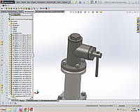 Услуги проектирования трубопроводной арматуры и промышленного оборудования
