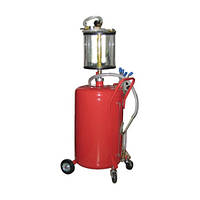 Установка для вакуумной откачки масла с мерной колбой G.I.KRAFT B8010KV (80 л)
