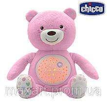 Игрушка музыкальная Chicco - Медвежонок (08015.10) розовый
