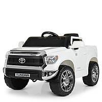 Детский электромобиль Toyota Tundra JJ2125EBLR-1 белый