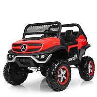 Детский электромобиль Mercedes Benz 4WD M 4133EBLR-3 красный