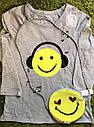 Стильная сумочка  эмоции смайлик с  пайетками перевертышами GAP  ГАП   Оригинал, фото 6