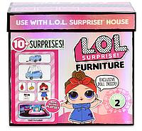 Набор ЛОЛ с Машиной и Техно Леди L.O.L. Surprise! Furniture Road Trip MGA 564928