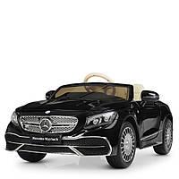 Детский электромобиль Mercedes-Benz М 4210EBLRS-2 черный автопокраска